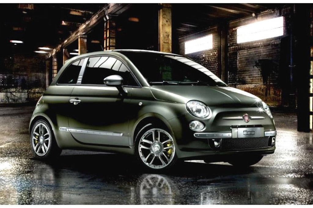 hippe diesel uitvoering van fiat 500 autonieuws. Black Bedroom Furniture Sets. Home Design Ideas