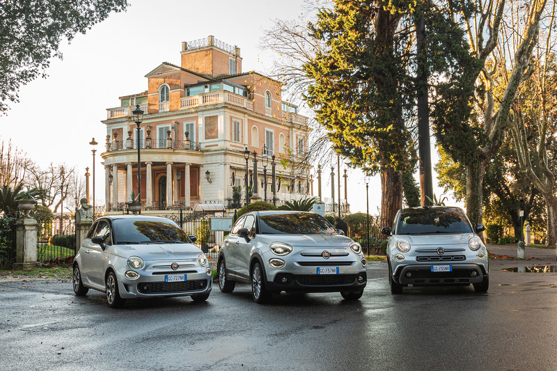 Reguliere Fiat 500-modellen opgefrist