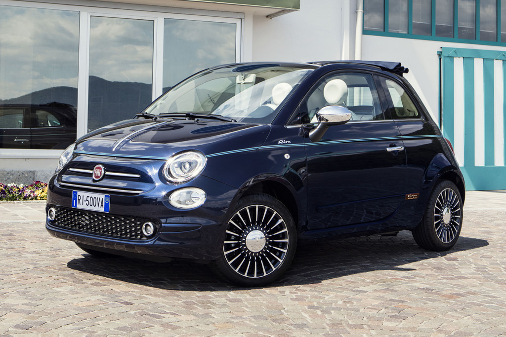 fiat 500 riva vanaf euro autonieuws. Black Bedroom Furniture Sets. Home Design Ideas