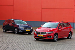 Fiat Tipo Hatchback en Stationwagon