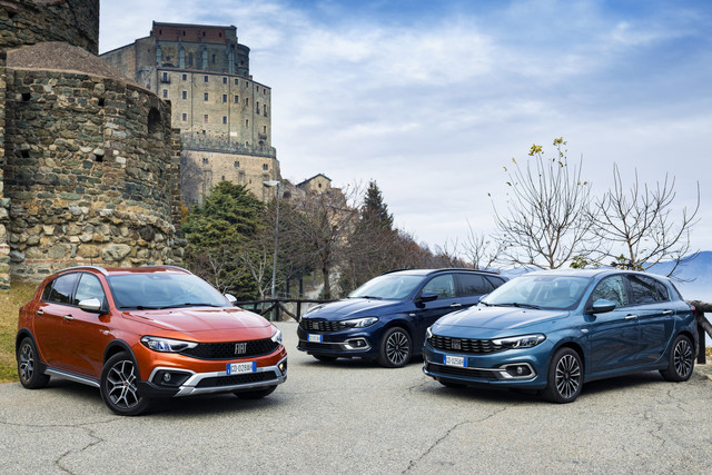 Fiat Tipo, Tipo Cross en Tipo Stationwagon 2021