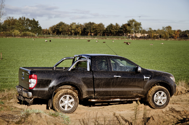 Ford Ranger 2 Tdci 150 Pk Super Cab Limited Fotoreportages