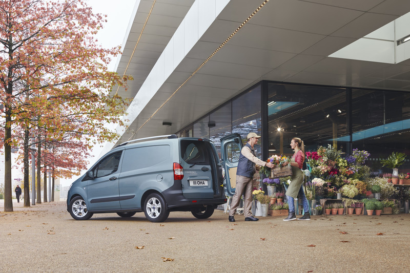 Meer info vernieuwde Ford Transit Connect en Courier