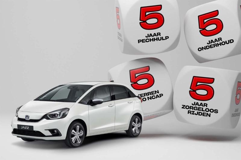 Honda Jazz al vanaf € 399,- per maand