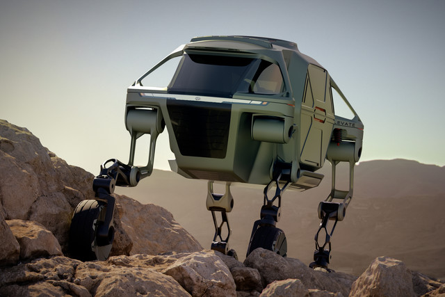 Hyundai Elevate Walking Car