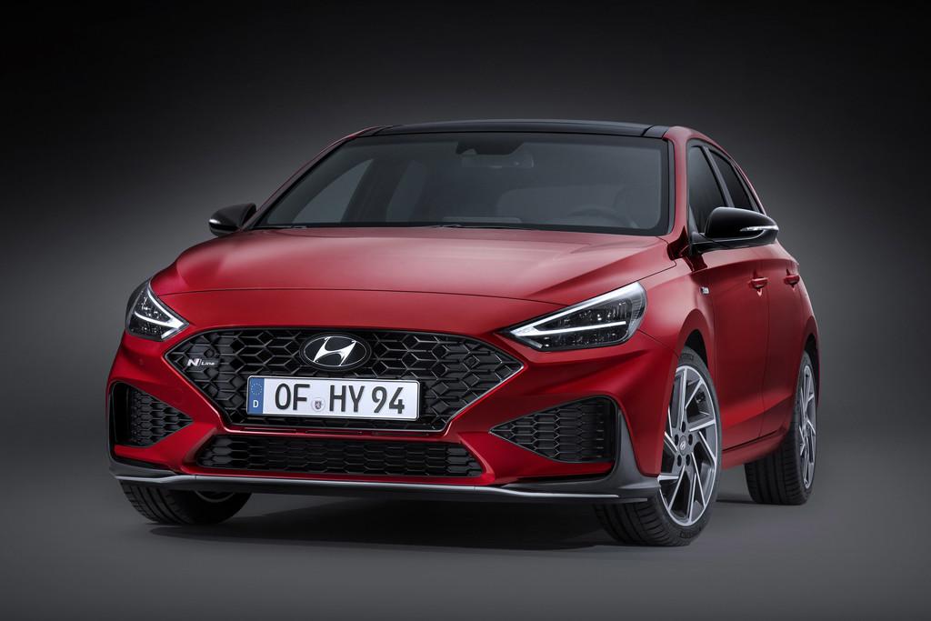 Vernieuwde Hyundai i30 met mild hybrid-techniek