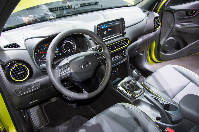 Hyundai kona electric pag 2 for Interieur hyundai kona
