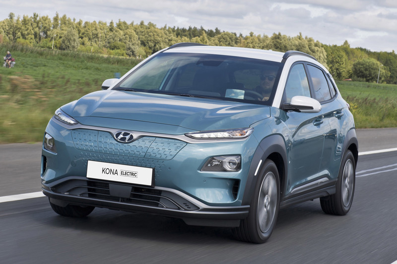Hyundai Kona Electric sneller op te laden