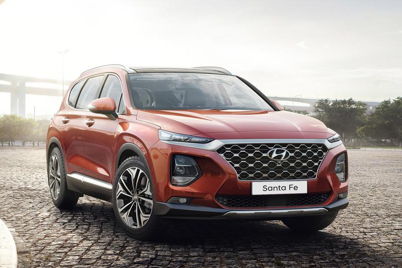Nieuwe Hyundai Santa Fe binnenkort verkrijgbaar