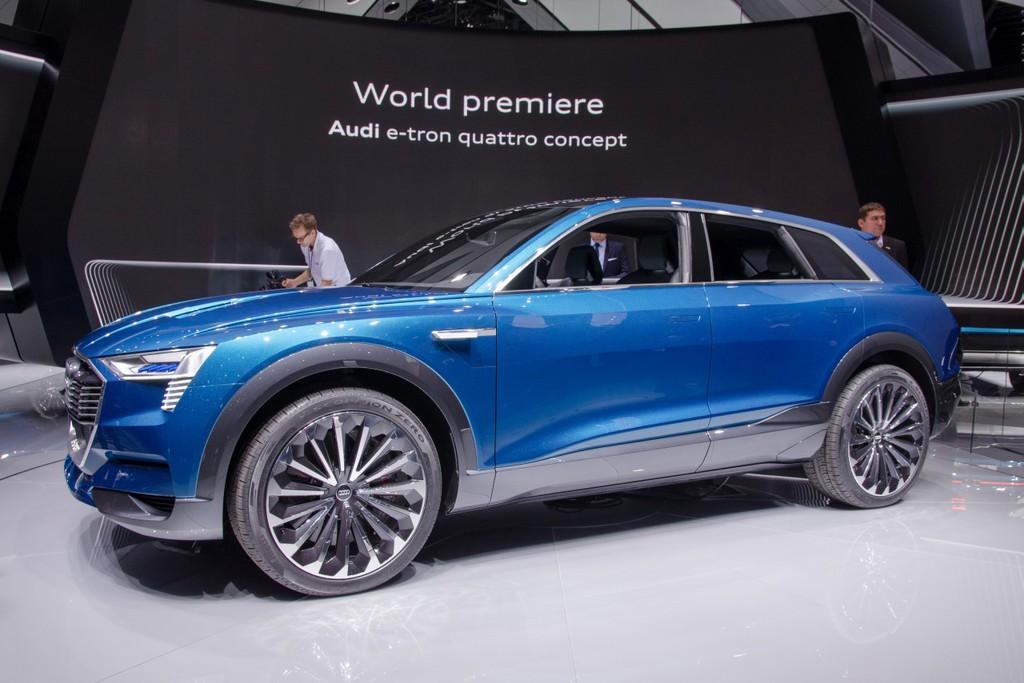 Audi e-tron Quattro Concept komt in 2018 - Autonieuws ...