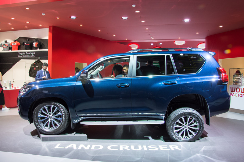 Toyota Land Cruiser blijft betrouwbare terreinlobbes