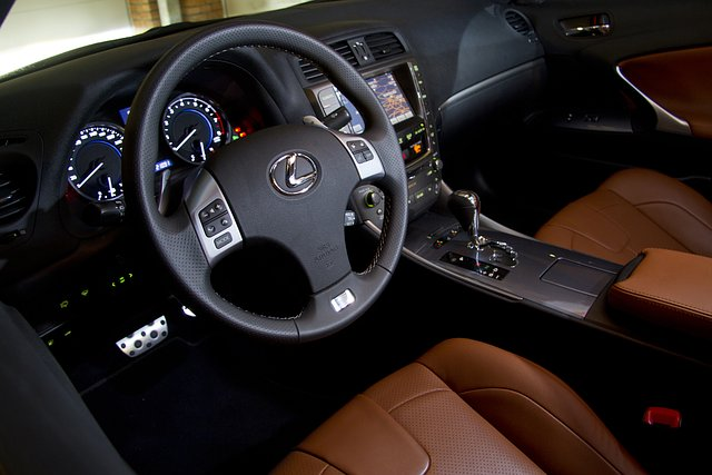 Interieur Lexus IS250 F-Sport Line
