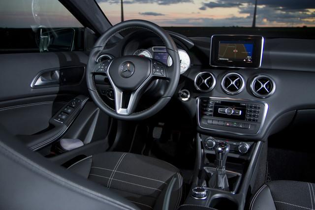 Test mercedes benz a klasse 2012 for Mercedes classe b interieur