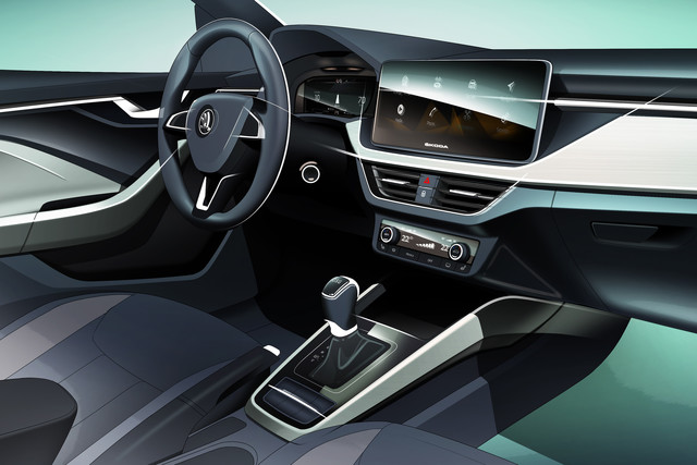 Interieur Skoda Scala 2019