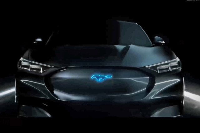 Is dit de elektrische Ford Mustang?