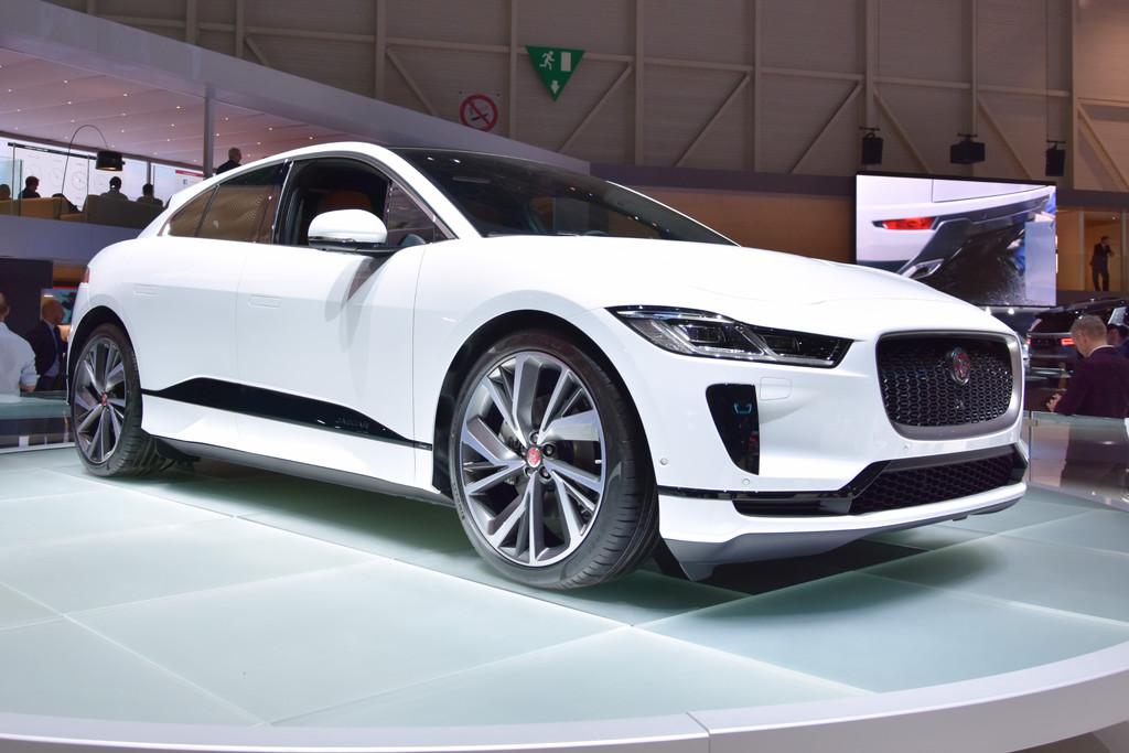 Autosalon Van Geneve 2018 Jaguar I Pace Is Op Tesla Jacht