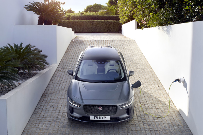 Jaguar I-Pace: gratis extra's en korting op laadpaal