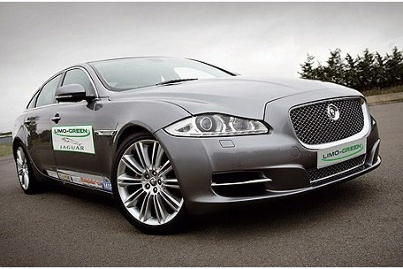 Jaguar XJ Limo Green: veelbelovend project