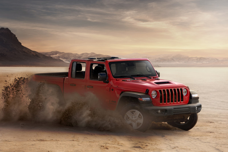Jeep Gladiator arriveert in Europa