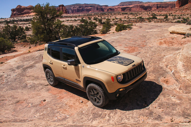 Jeep Renegade 2017 - Deserthawk Limited Edition