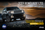 Jeep Renegade LTD 5th Anniversary