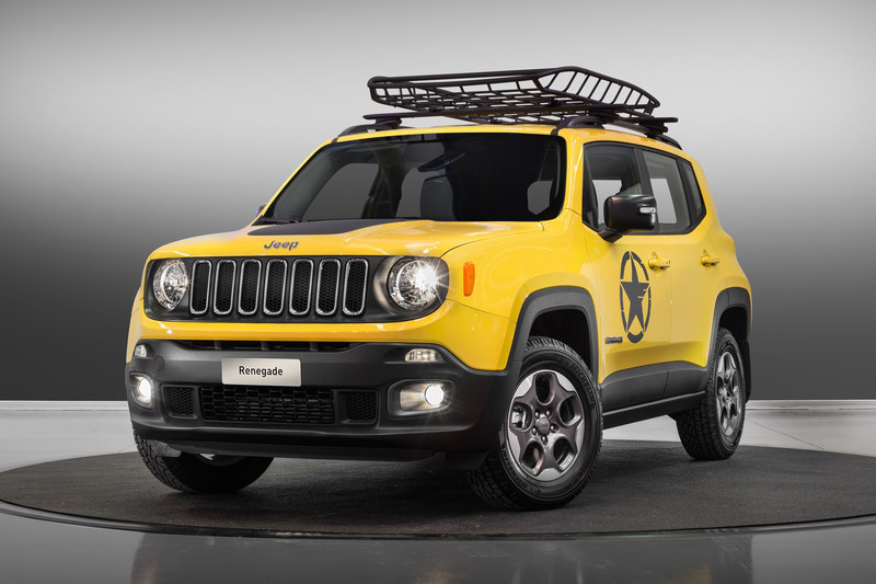 MoparOne-kit voor de Jeep Renegade en Wrangler