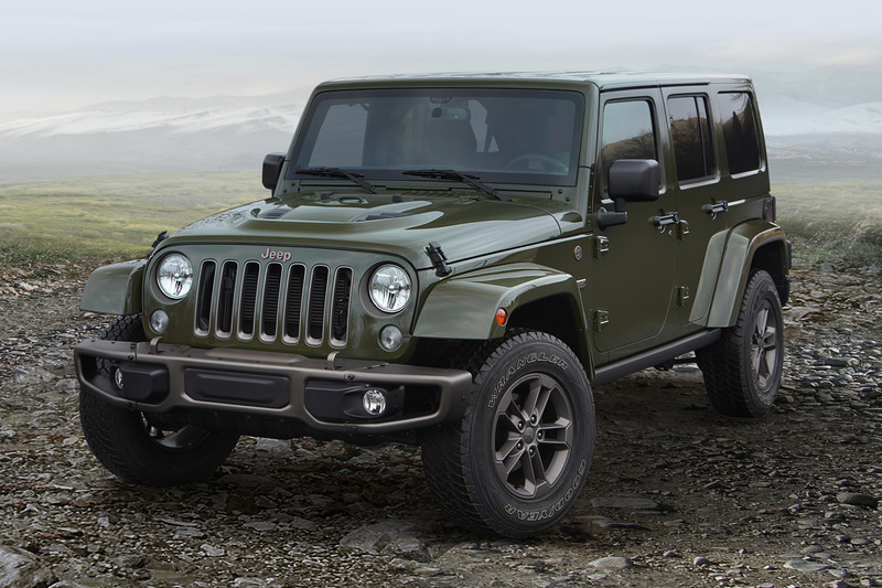 Jeep 75th Anniversary Editions