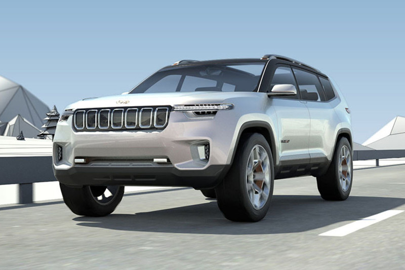Jeep Yuntu Concept in Chinese sferen