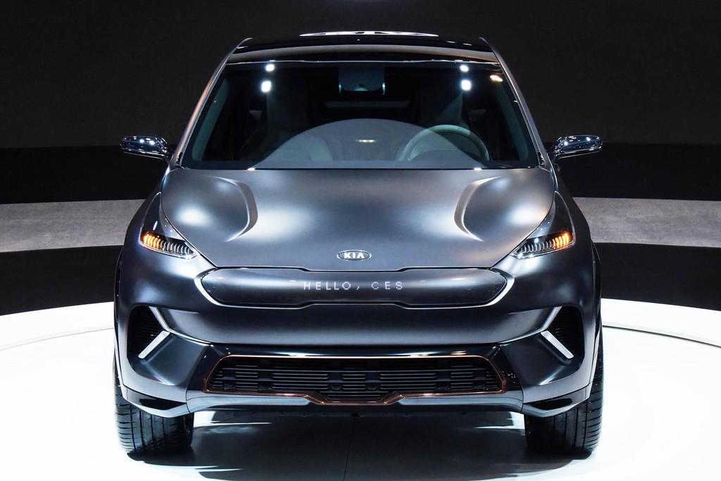 Ces 2018 Kia Niro Ev Concept Als Voorbode Grootse Elektroplannen