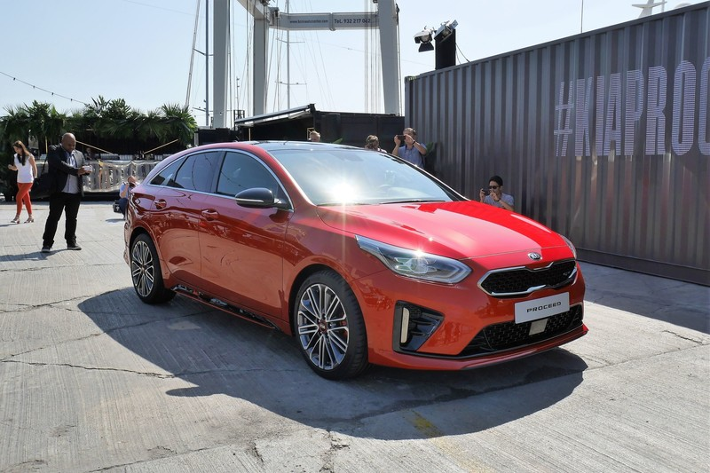 Live: Kia ProCeed onthuld in Barcelona