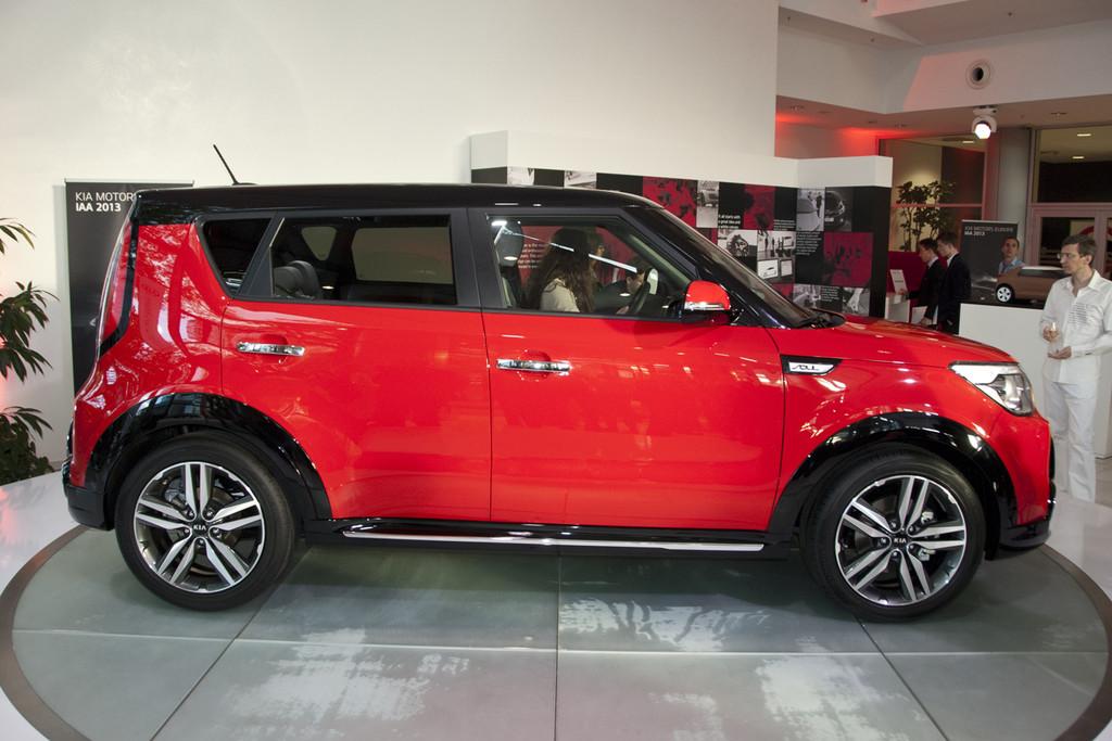 Iaa 2013 Nieuwe Kia Soul Alleen Als Elektrische Auto Autonieuws