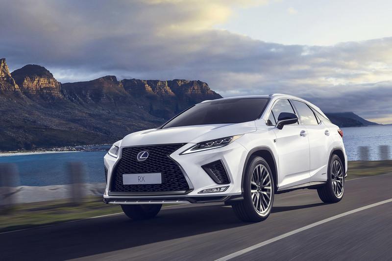 Vernieuwde Lexus RX vanaf november verkrijgbaar