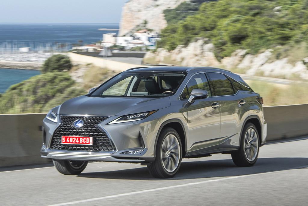 Alle prijzen vernieuwde Lexus RX