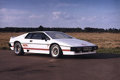 Lotus Esprit Turbo 1980-1987 zijvoor