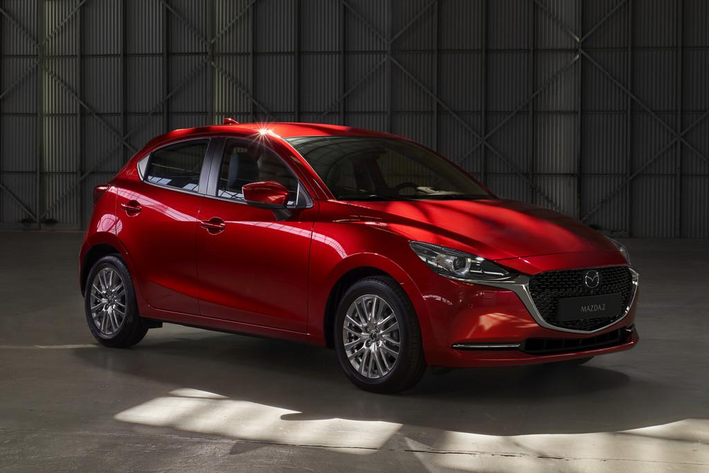 Opgefriste Mazda 2 krijgt hybride ondersteuning