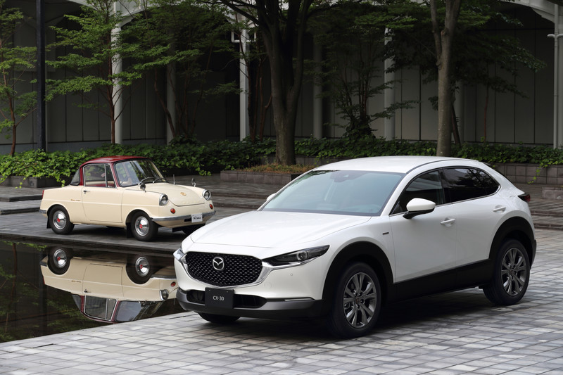 Prijzen Mazda CX-30 100th Anniversary Edition