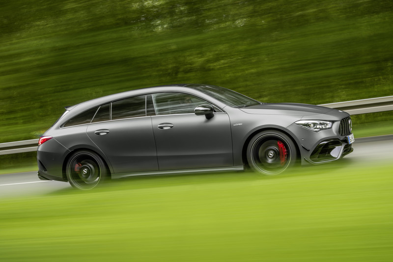 Mercedes-AMG CLA 45 AMG ook als Shooting Brake