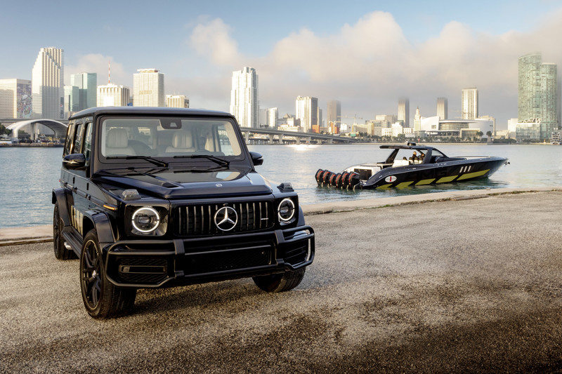 Te land en ter zee: Mercedes-AMG G 63 Cigarette Edition
