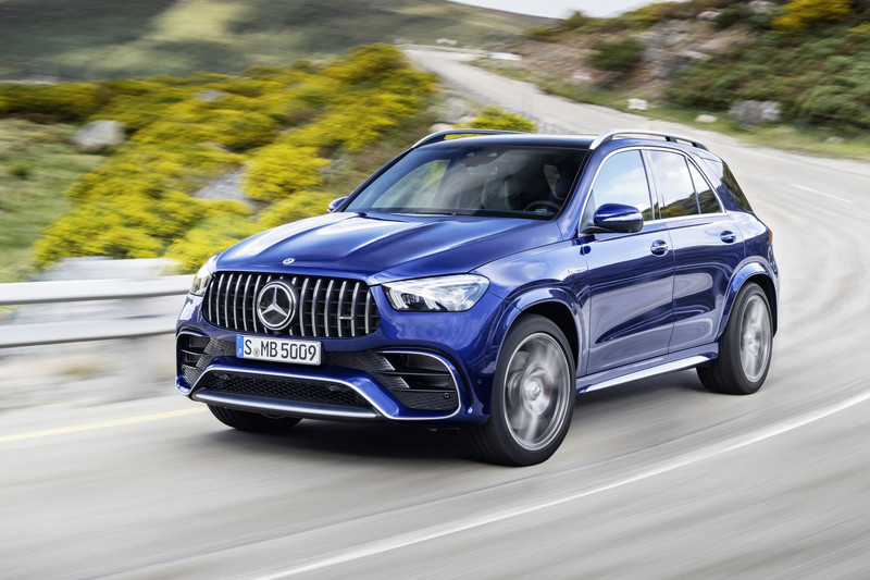 Mercedes-AMG top performance-SUV's
