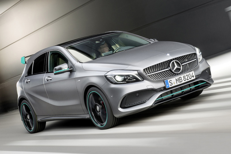 Mercedes benz a klasse motorsport edition actie for Mercedes benz a klasse