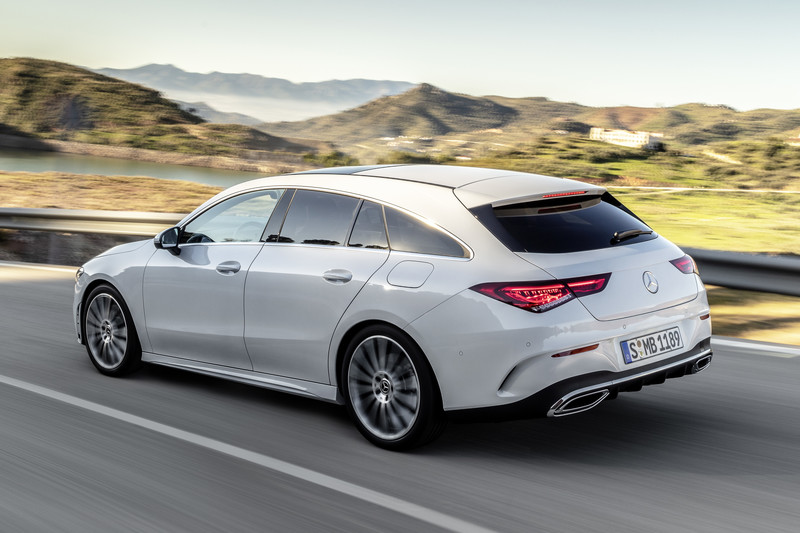 Mercedes-Benz CLA Shooting Brake vanaf 38.918 euro