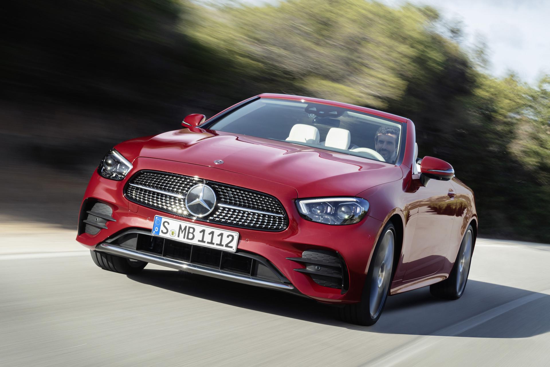 Nieuws: Mercedes-Benz E-Klasse Coupé en Cabrio 2021 ...