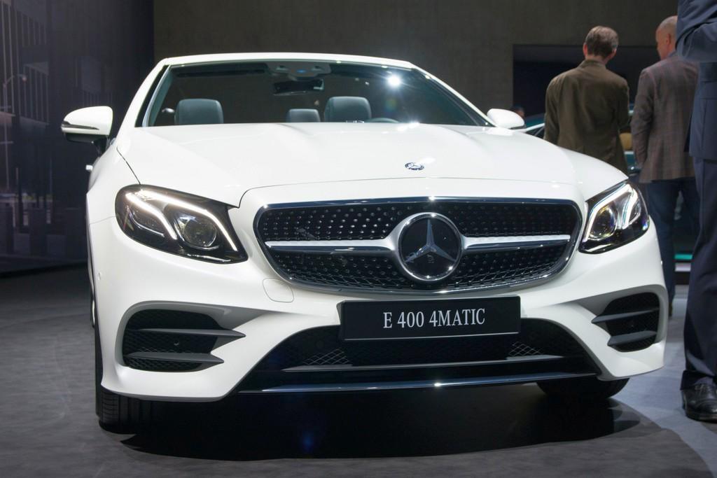 Mercedes benz e klasse cabriolet al het goede komt samen for Mercedes benz in vance al