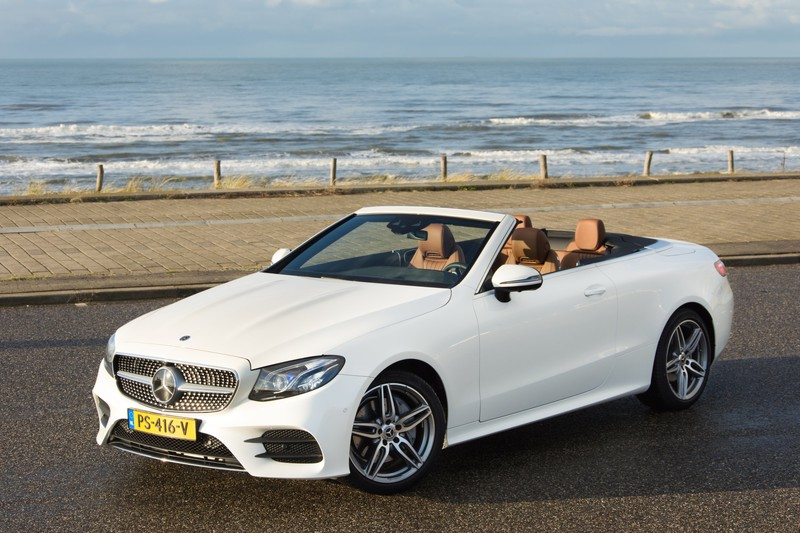 Mercedes-Benz E-Klasse Cabriolet: leuker in de winter