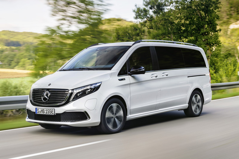 Mercedes-Benz EQV is eerste elektrische personenbus