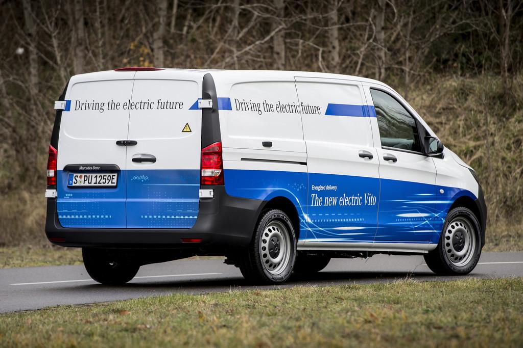 Evito Eerste Elektrische Mercedes Benz Bestelwagen Autonieuws