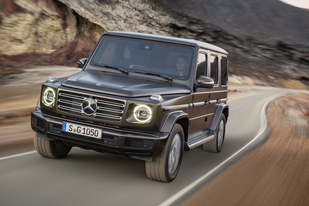 nieuwe mercedes benz g klasse nu al geprijsd autonieuws. Black Bedroom Furniture Sets. Home Design Ideas