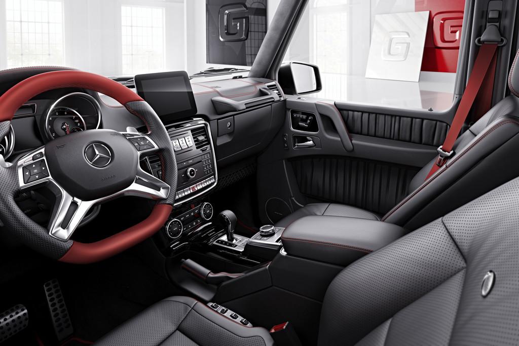 Nieuwe Uitvoeringen Voor Oudgediende Mercedes Benz G Klasse