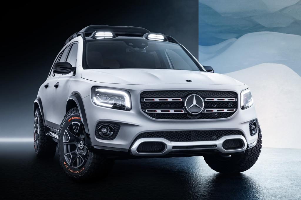Nieuws Mercedes Benz Glb Concept Suv Is Klaar Autokopen Nl