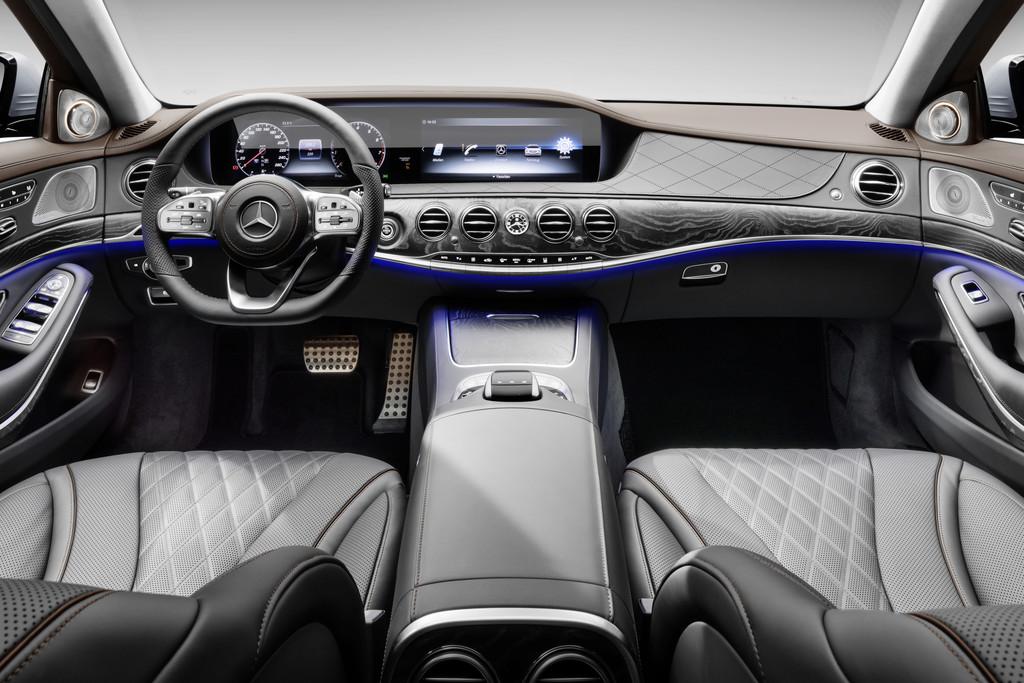 Mercedes benz s klasse op bijna alle onderdelen verbeterd for Mercedes a klasse amg interieur